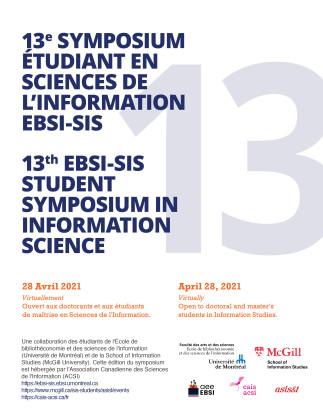 13e Symposium EBSI-SIS