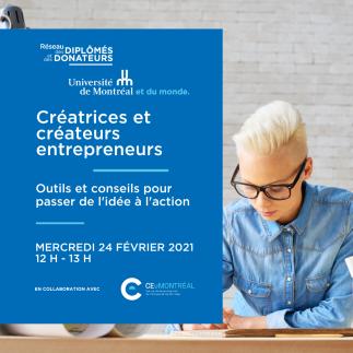 Créatrices et créateurs entrepreneurs : outils et conseils pour passer de l'idée à l'action