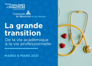 Sciences infirmières : la grande transition - de la vie académique à la vie professionnelle