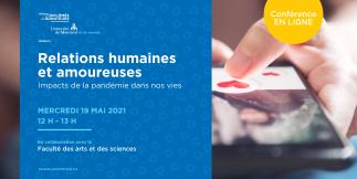 Relations humaines et amoureuses : impacts de la pandémie dans nos vies