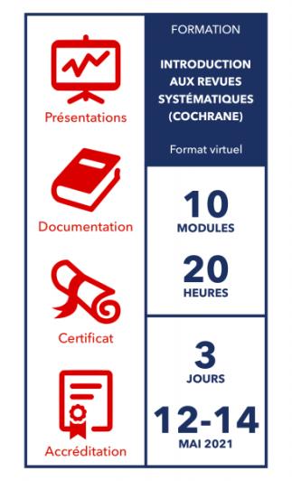 Introduction aux revues systématiques (Cochrane)