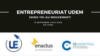 Entrepreneuriat UdeM : joins-toi au mouvement!