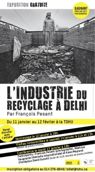 Conférence en lien avec l'exposition 'L'industrie du recyclage à Delhi'