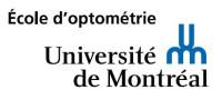 École d'optométrie