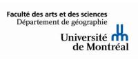 Université de Montréal - Département de géographie