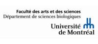Université de Montréal - Département de sciences biologiques